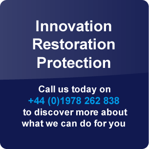 Innovation, Restoration, Protection - Call us today on +44 (0)1978 262 838 to discover more about what we can do for you