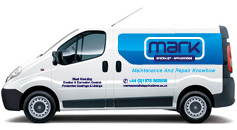 Mark Specialist Applications van
